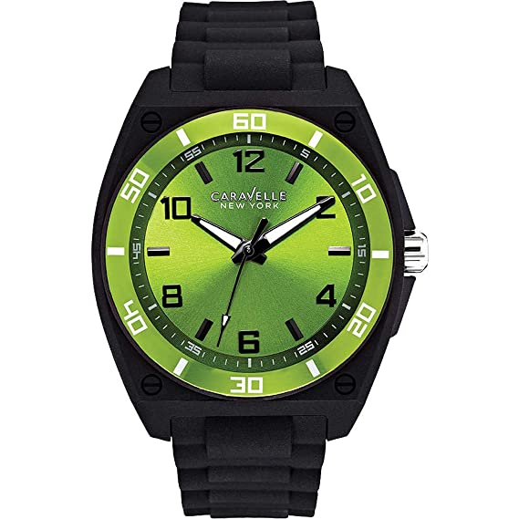 Reloj hombre solo tiempo Caravelle New York Sport Men oferta trendy modelo 45A113: Amazon.es: Relojes