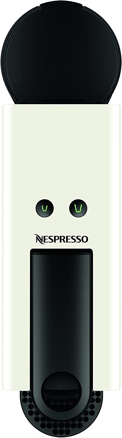 Breville-Nespresso USA BEC250WHT1AUC1 Nespresso Essenza Espresso Machine, Bundle – Pure White