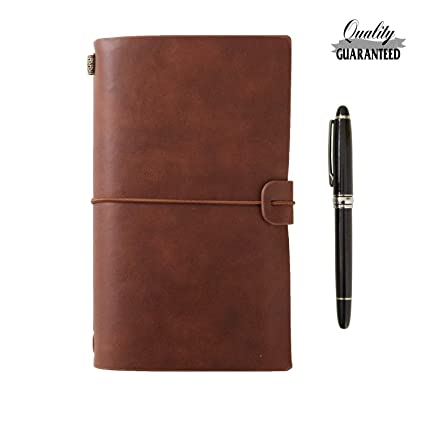 Men's Accessories Clothing, Shoes & Accessories Official Website New Leather Handmade Journal Critique Star Design Brown Dairy Star Brown Dairy Products Hot Sale