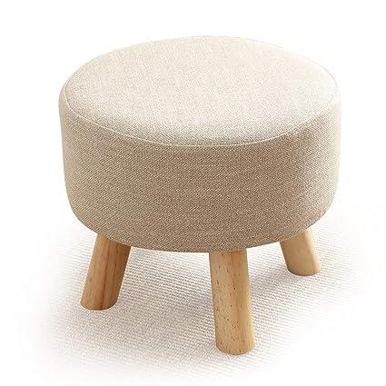 Amazon.com: HZB Low Stool, Small Stool Sofa, Bedroom ...