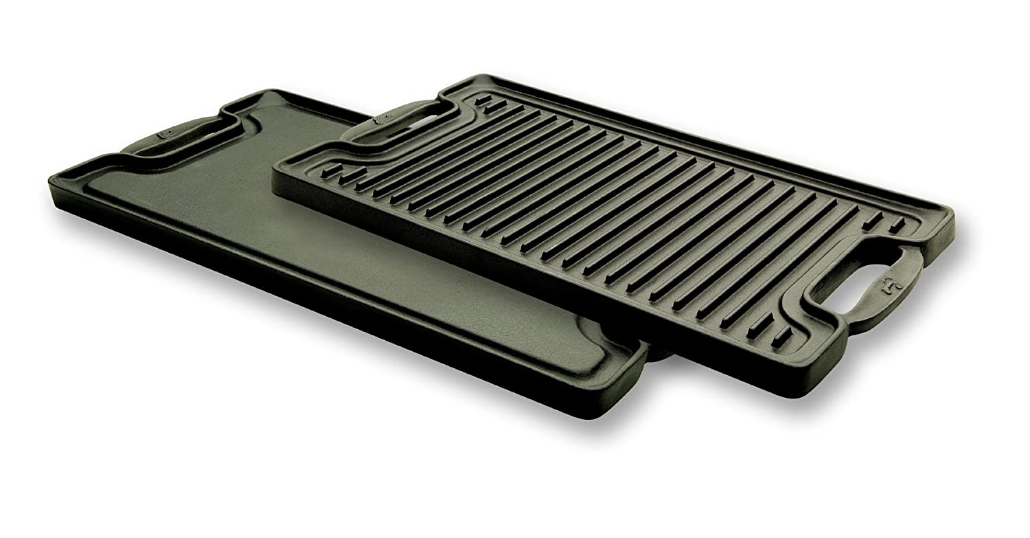 How to clean a cast iron grill griddle
