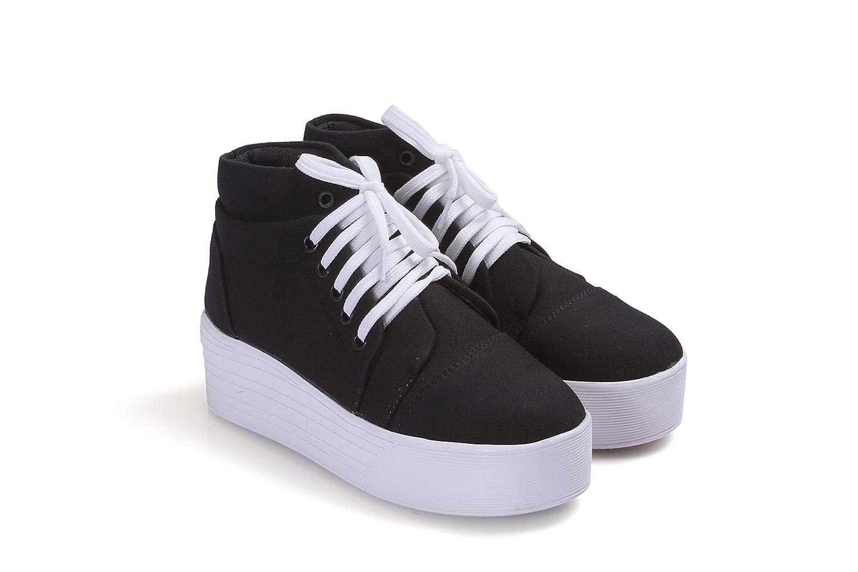 sneaker heel boots
