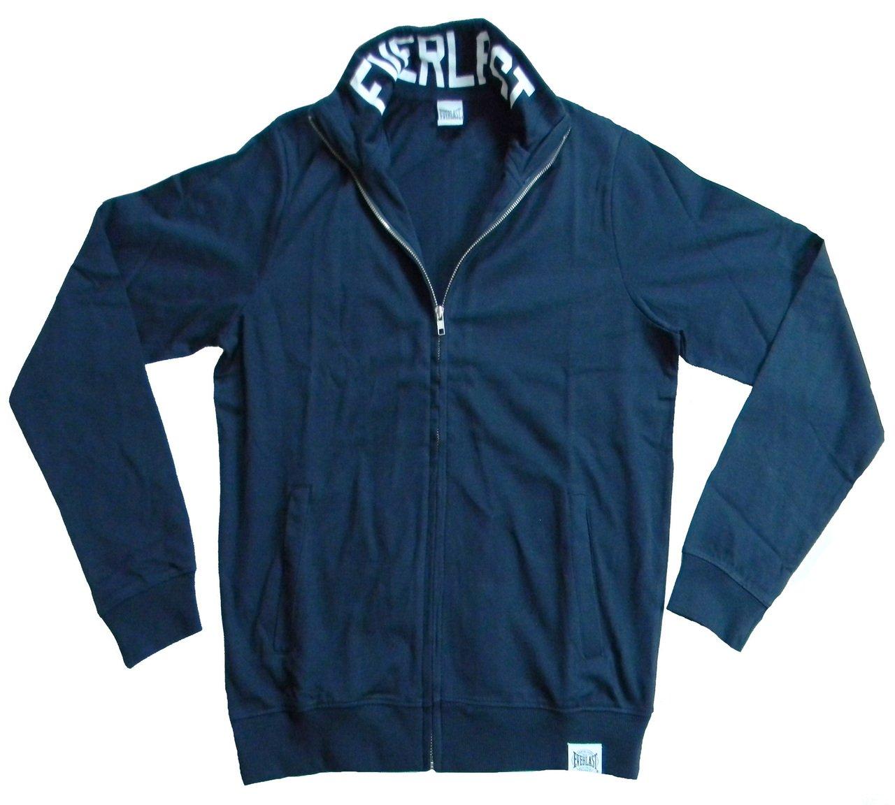 Everlast Sweatshirt ohne Kapuze Mann 22M230J09 langer Reißverschluss Jersey Blau (Blau)