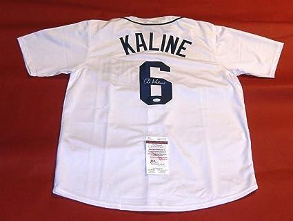 hot sale online 59a25 1ffa2 Al Kaline Autographed Signed Autograph Detroit Tigers Jersey ...