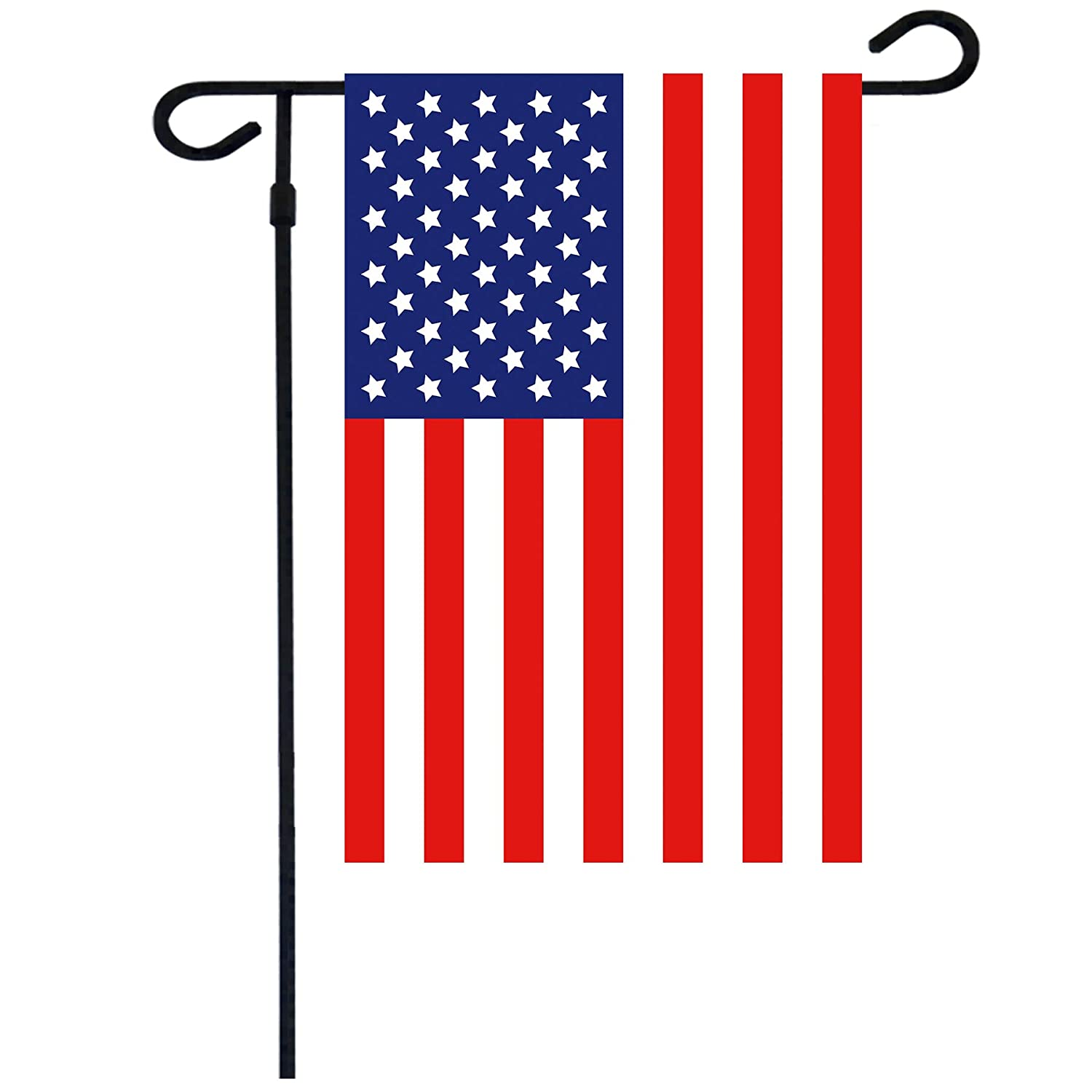 American Flag Garden Flag Double Sided USA Flag 12.5 x 18 Inch Best for Garden Decoration Flags(1 PC)