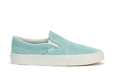 8b3906e943caa6 Image Unavailable. Image not available for. Colour  Vans Classic Slip-On  Perf Suede ...