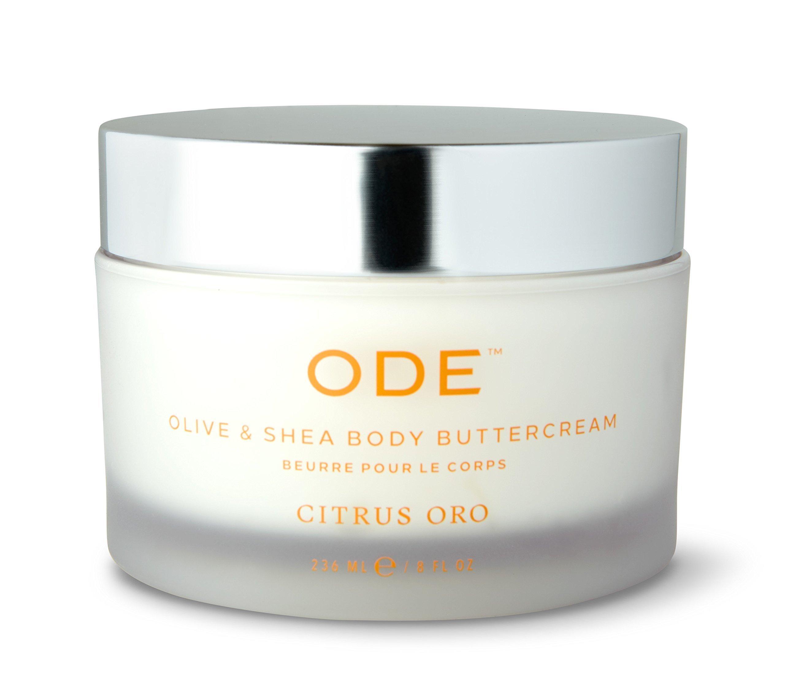 ODE natural beauty - Citrus Oro Olive & Shea Body Buttercream