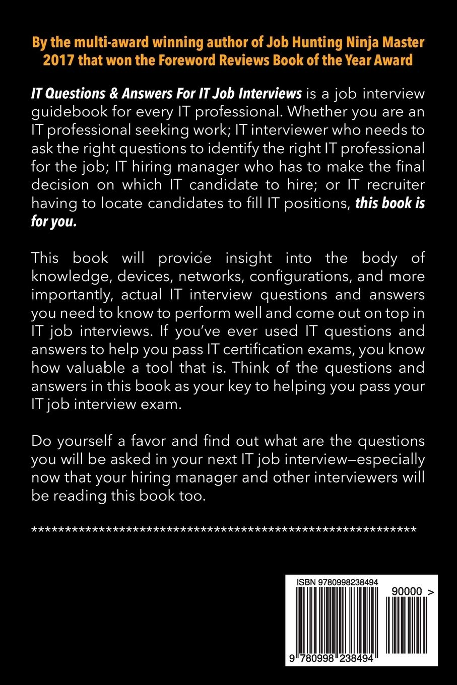 IT Questions & Answers For IT Job Interviews: Volume 2 IP ...