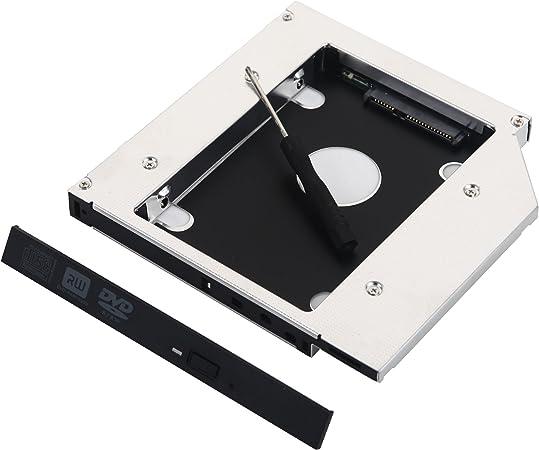 DeYoung 2 nd SATA Disco Duro HDD SSD Caddy para HP ProBook 6440b ...
