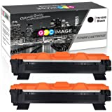 GPC Image Cartucce Toner Compatibili Brother TN1050 TN-1050 (2 Nero) per Brother HL-1110 DCP-1510 HL-1210W DCP-1610W HL-1112 MFC-1810 HL-1212W MFC-1910W DCP-1612W DCP-1512 Stampante