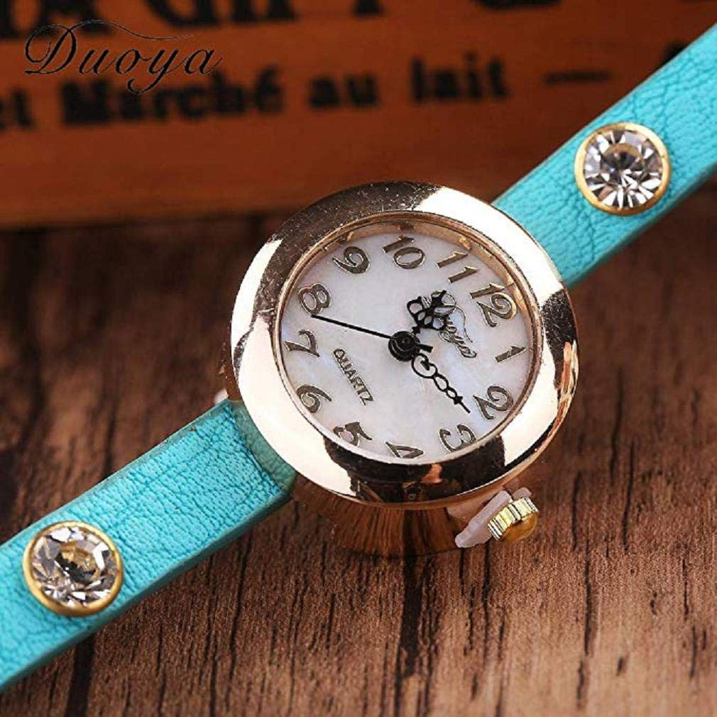 Amazon.com: Womens Bracelet Watches Windoson Ladies Watches Female Watches Leather Watch (Khaki): Electronics