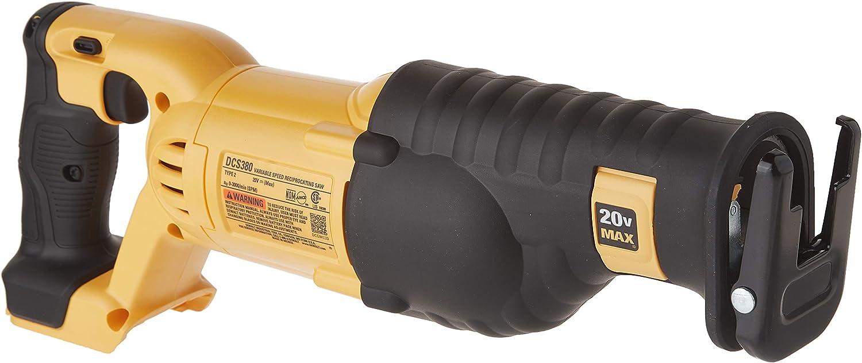 DEWALT 20V MAX Reciprocating Saw, Tool Only DCS380B