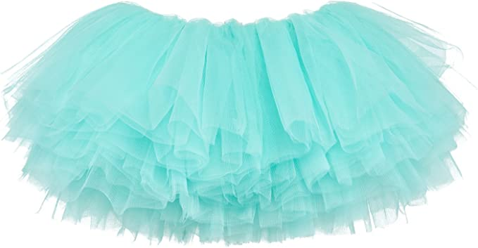 Neon Green   adult xsm  4 layer  tulle tutu skirt