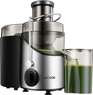 Licuadora con extractor de jugo Aicook para verduras y frutas