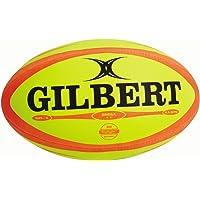 (Size-5, Fluro) - Gilbert Photon Match Rugby Ball (Size 5)