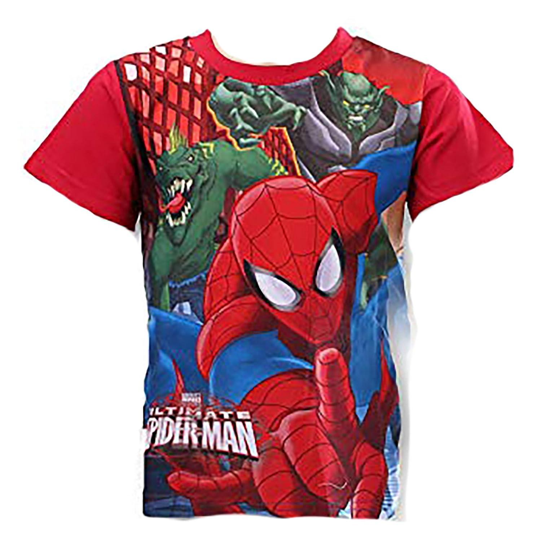 Uomo Ragno T-shirt Bambino Spiderman 3 4 6 7 8 anni Estate 2018