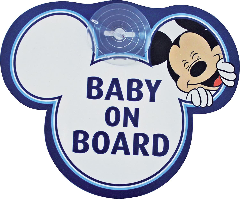 "Disney Segnale Auto ""Baby On Board"" Topolino Eurasia 25008"