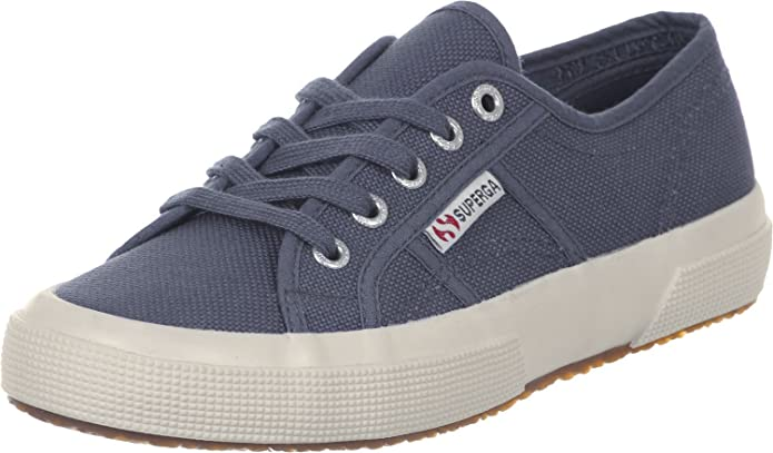 Superga 2750 Cotu Classic Sneakers Low-Top Unisex Damen Herren Blau (Blue Shadow)