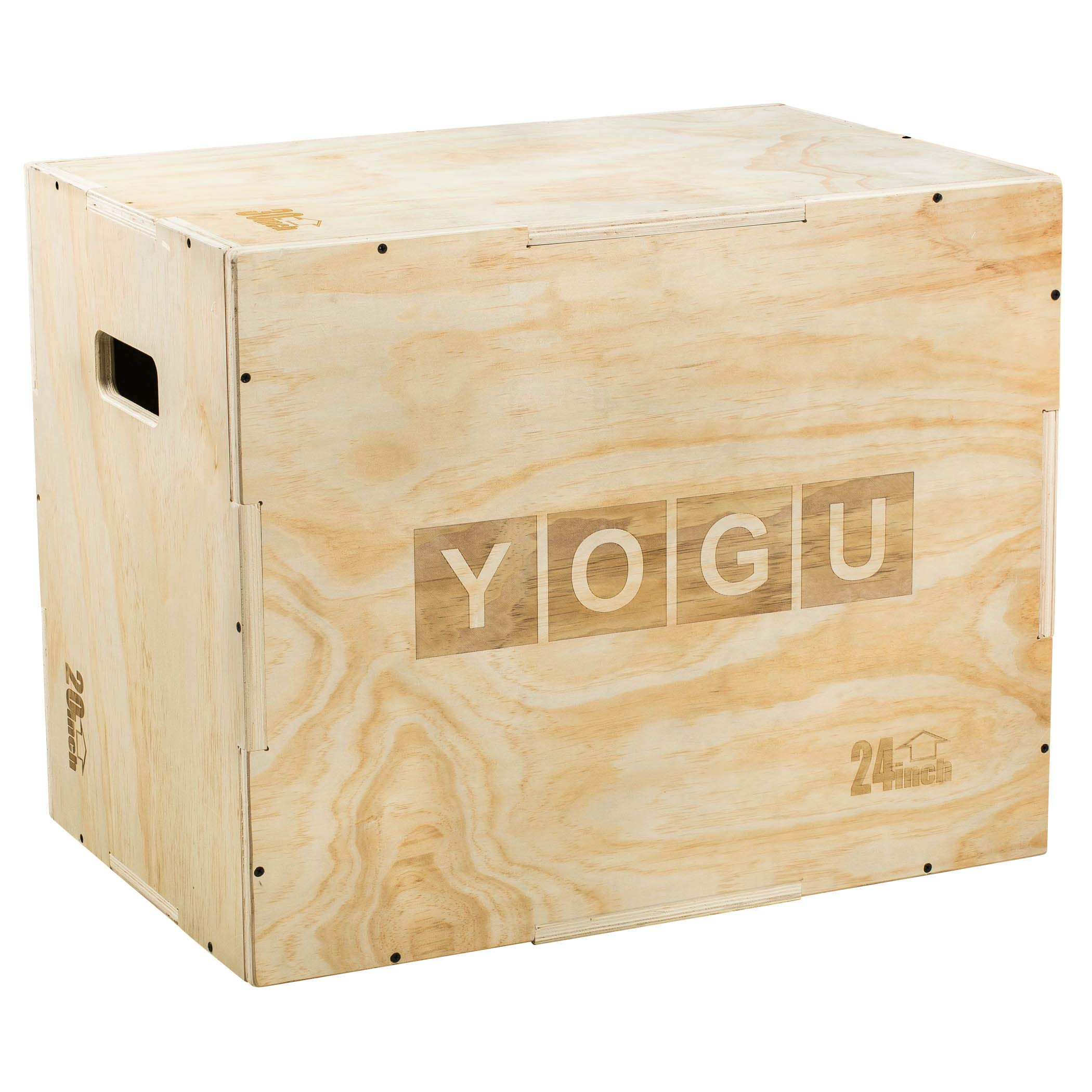 YOGU 3 in 1 Wood Plyometric Box (30/24/20)