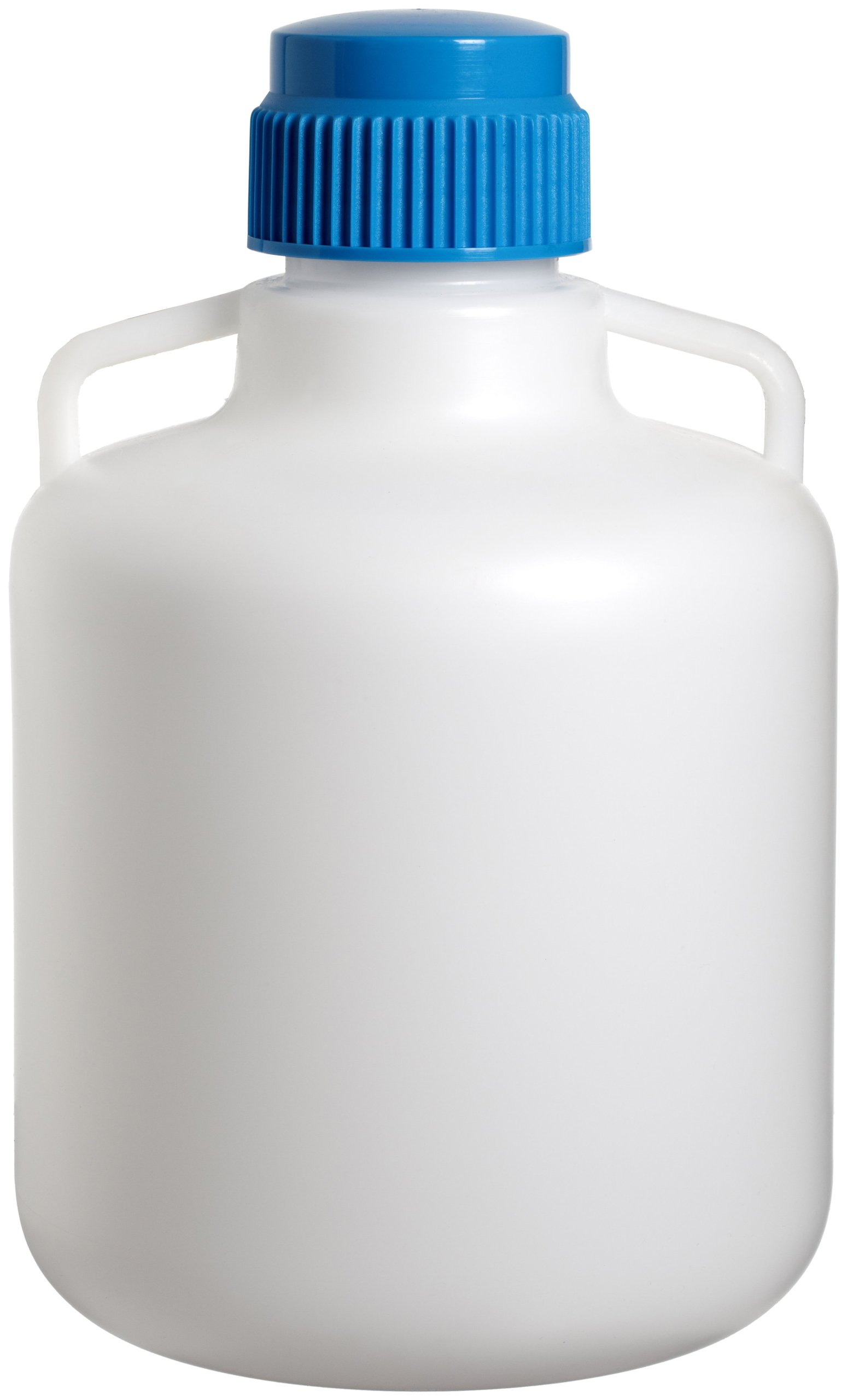Bel-Art Autoclavable Polypropylene Carboy without Spigot; 10 Liters (2.6 Gallons) (F10794-0025)