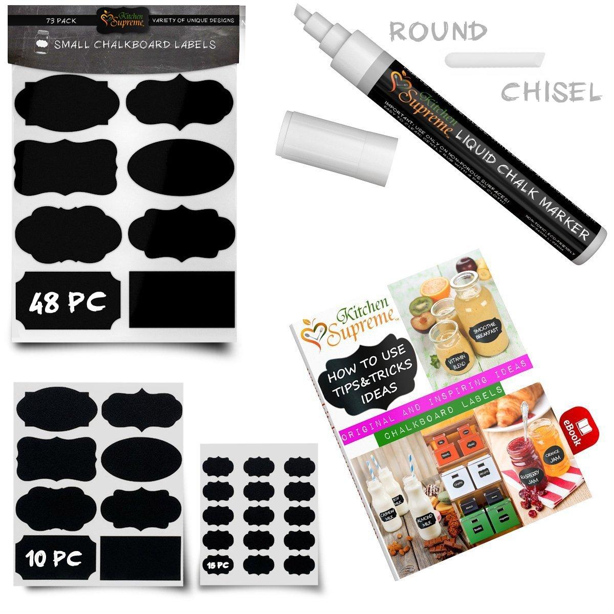 Chalkboard Labels Complete Bun...