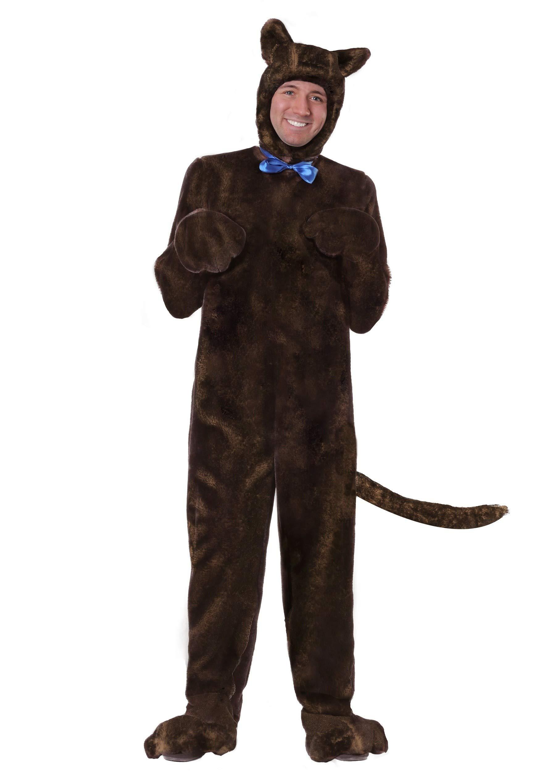 Adult Deluxe Brown Dog Costume Medium