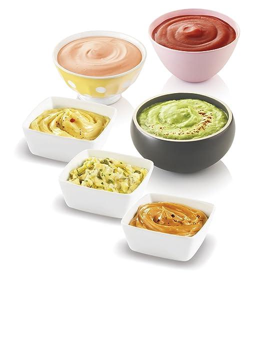 Moulinex DD310110 - Batidora de mano especial para mayonesa, color blanco y amarillo: Amazon.es: Hogar