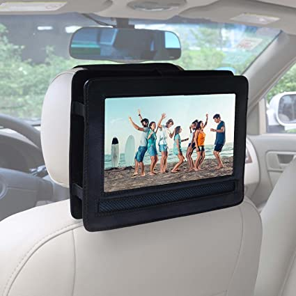 "Soporte de reposacabezas de coche para APEMAN 9.5"" HD Reproductor de DVD Portátil Reproductor con"