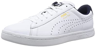 1426efed417 Puma Court Star Crafted - Sneakers Basses - Mixte Adulte - Blanc (White  Peacoat