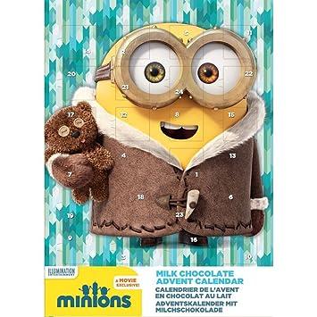 Gru Navidad Calendario de Adviento de Chocolate con Leche 2015 65 G: Amazon.es: Hogar