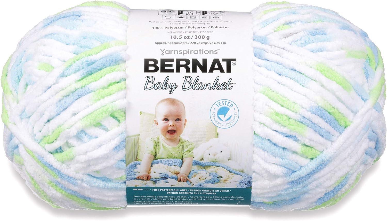 Spinrite 161103-3510 Baby Blanket Yarn-Peachy 3Pk