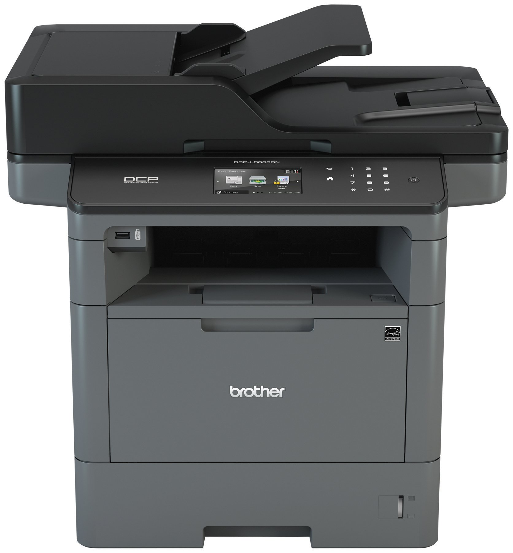 Brother DCPL5600DN Business Laser Multi-Function Copier with Duplex Printing and Networking, Amazon Dash Replenishment Enabled by Brother