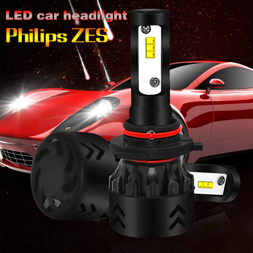 Amazon.com: LAIMAIK LED headlights bulbs 9005 / HB3 LED Headlight bulbs All-in-One conversion kits 50W 9600lm ZES Chips - 2 Year Warranty: Automotive