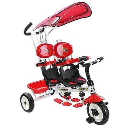 Amazon.com: Heize - Cochecito de bebé 4 en 1, color rojo ...