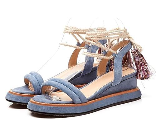 Zapatos Dulces Manera Borla De Sandalias Mujer La Ovm8Nn0w