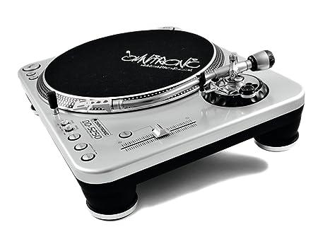 Omnitronic 10603004 - Plato para DJ, color plateado: Amazon.es ...