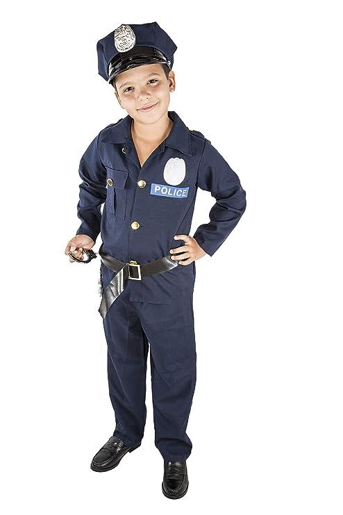 Costumizate! Disfraz de Policia Talla 5-6 Especial para ...