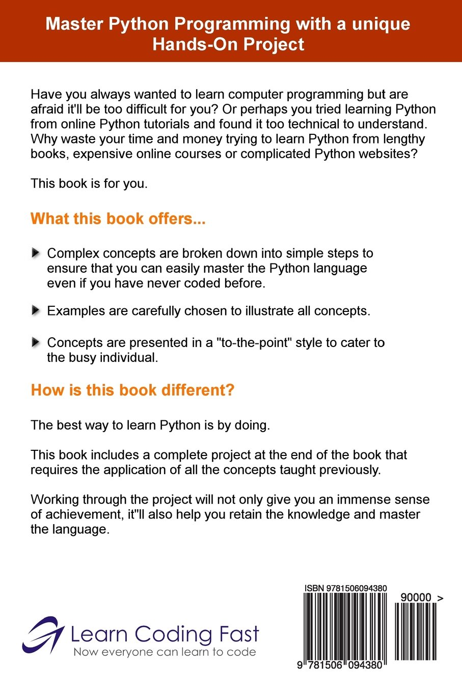 Learn python in one day and learn it well python for beginners with learn python in one day and learn it well python for beginners with hands on project the only book you need to start coding in python immediately baditri Gallery
