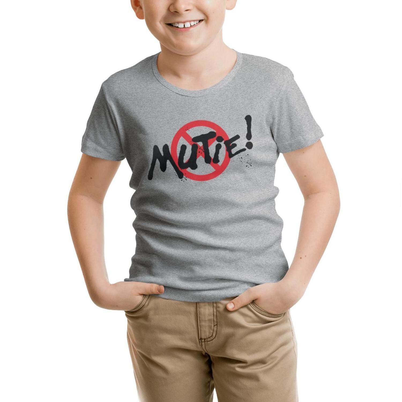 MOWAN Teenagers Short Sleeve Crew Neck T-Shirt Soft Family Tee