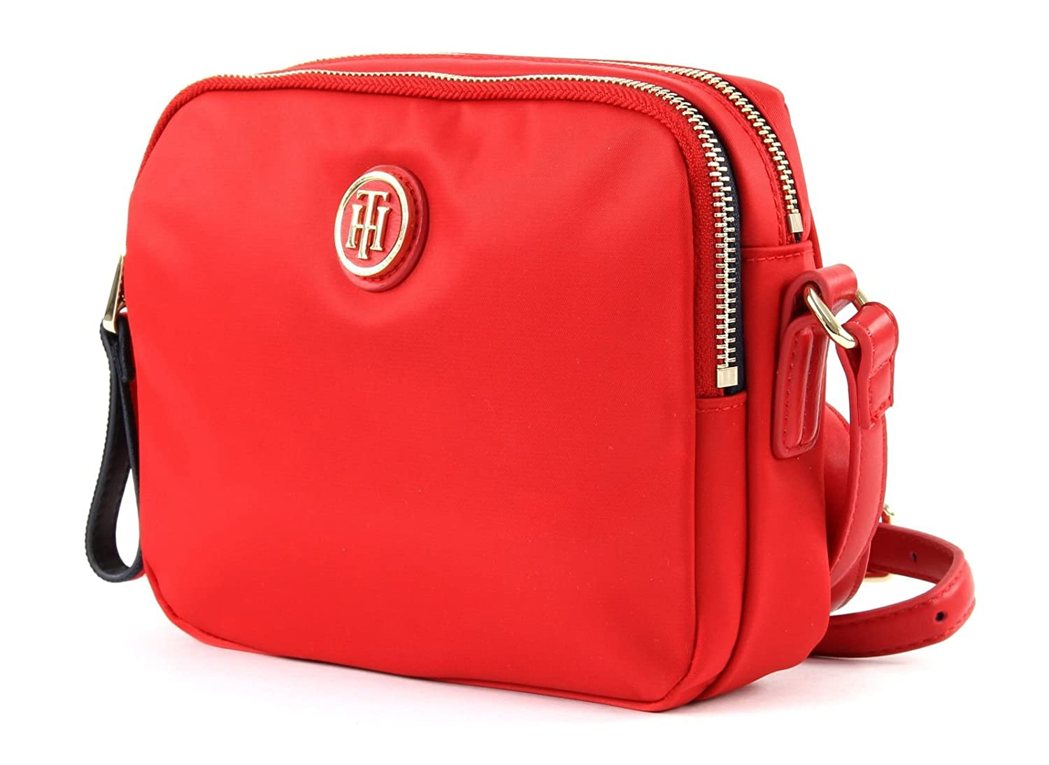 c41559a531ed TOMMY HILFIGER Poppy Crossover Tommy Red  Amazon.co.uk  Shoes   Bags