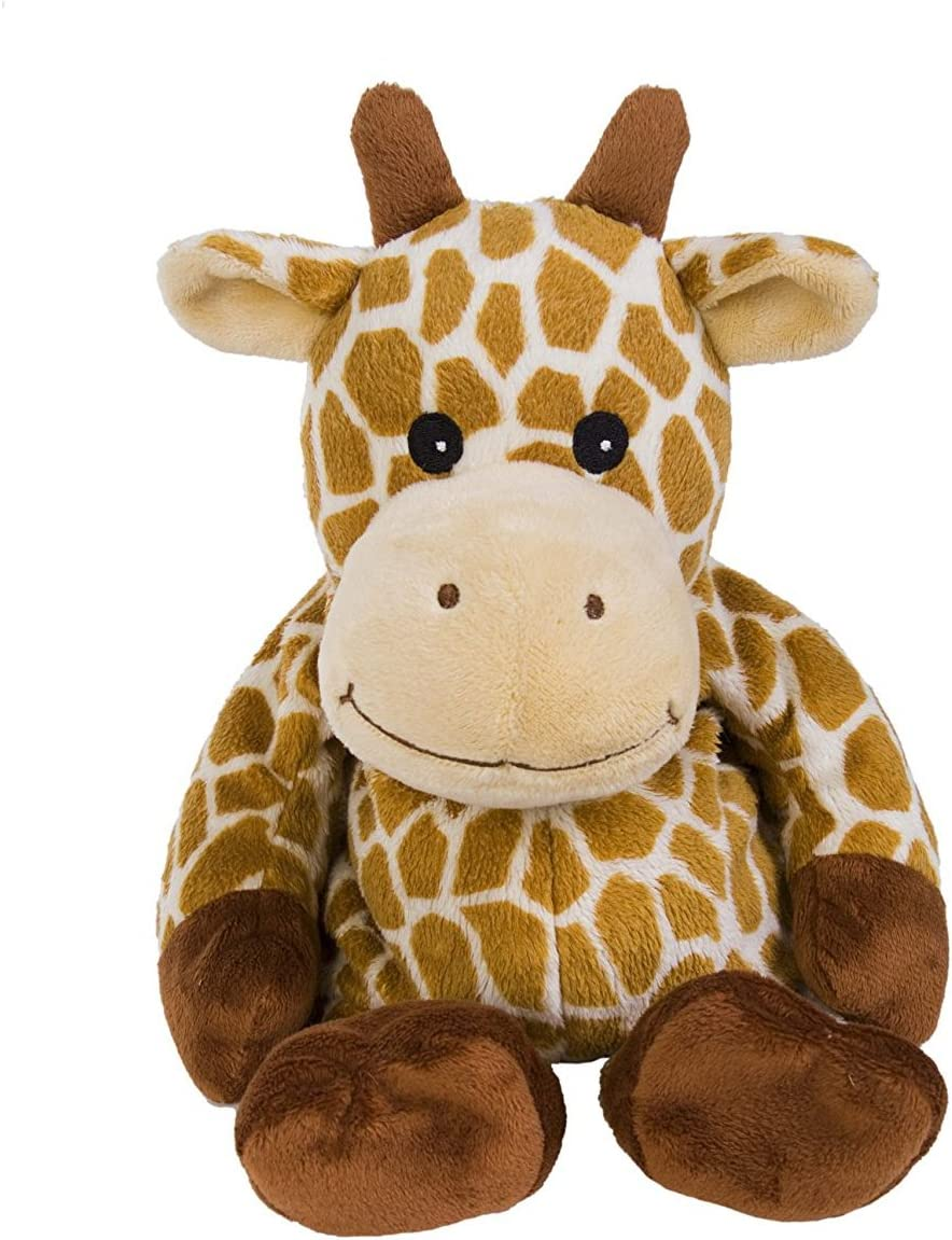 Warmies Plush Heat Up Microwavable Soft Cuddly Toys With A Lavender Scent, Giraffe