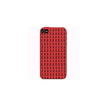 Cover Apple Iphone 4 4s Croce Di Camargue Sfondo Rosso Amazon