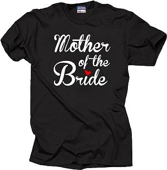 Milky Way Tshirts Madre de la Mujer de la Novia Camiseta de la Camisa de Boda: Amazon.es: Ropa y accesorios