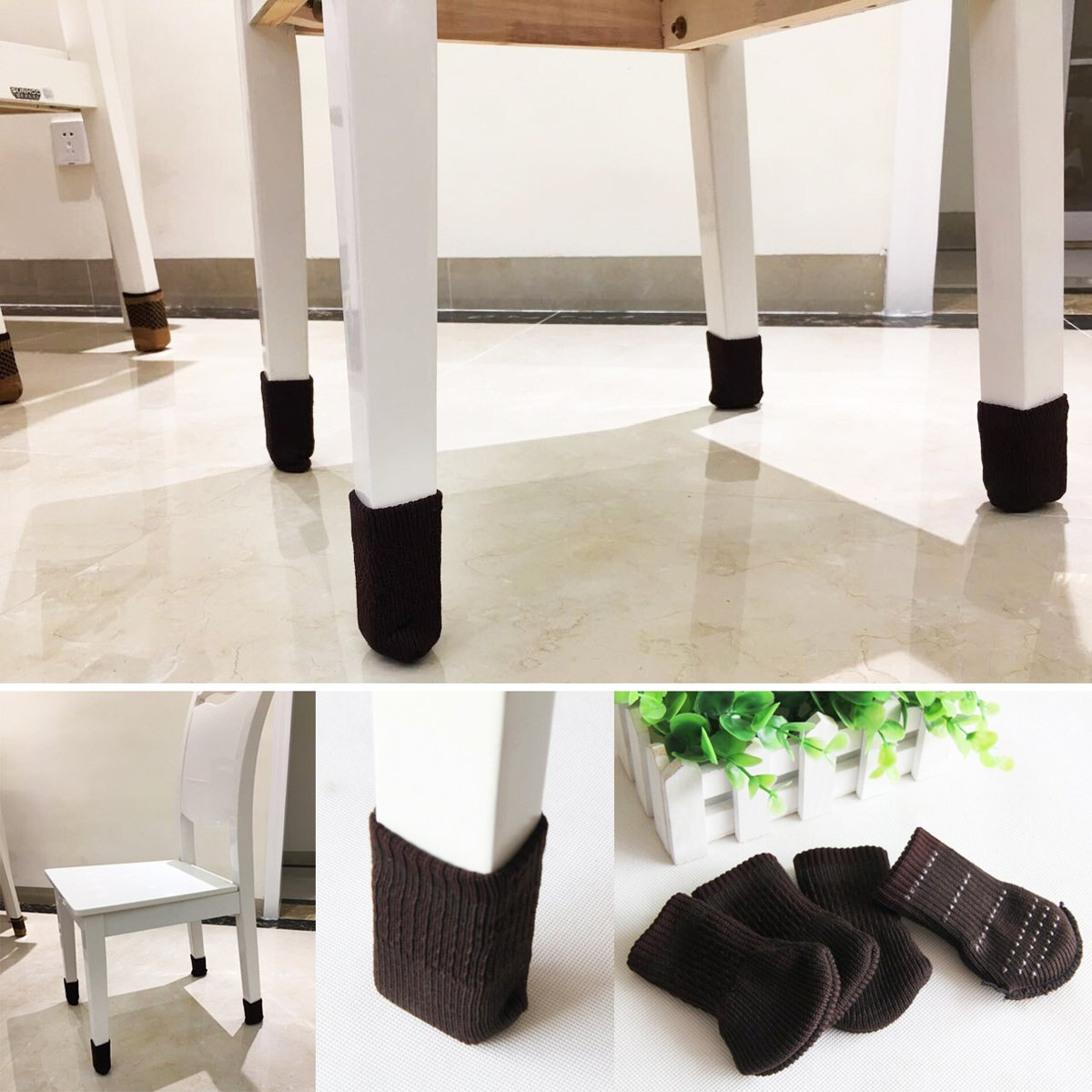 Furniture Socks To Prevent The Floor From Scratching