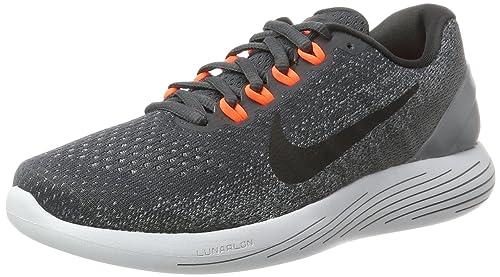 quality design f006d f35b8 Nike Lunarglide 9, Zapatillas de Entrenamiento para Hombre, Gris (Anthracite  Black-Cool Grey-Total Rouge Crimson), 40 EU  Amazon.es  Zapatos y  complementos