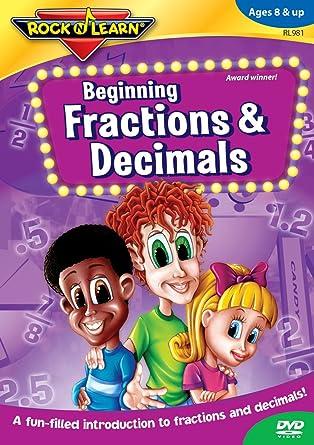 Amazon.com: Beginning Fractions & Decimals: Richard Caudle: Movies ...