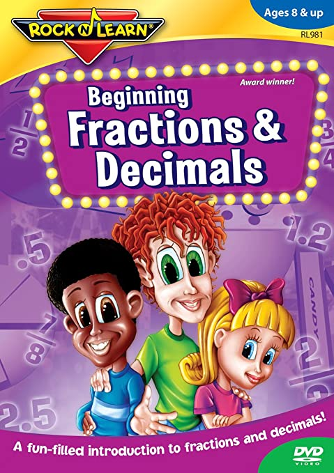 Amazon.com: Beginning Fractions & Decimals: Richard Caudle: Movies ...
