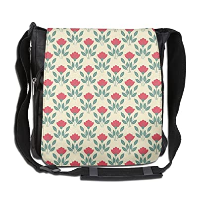 free shipping Lovebbag Pastel Colors Poppy Bouquets Corsage Design Elegance Tile Crossbody Messenger Bag