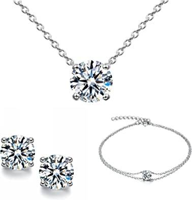 Uk Seller high quality sparkly adjustable G chocker with match free earrings