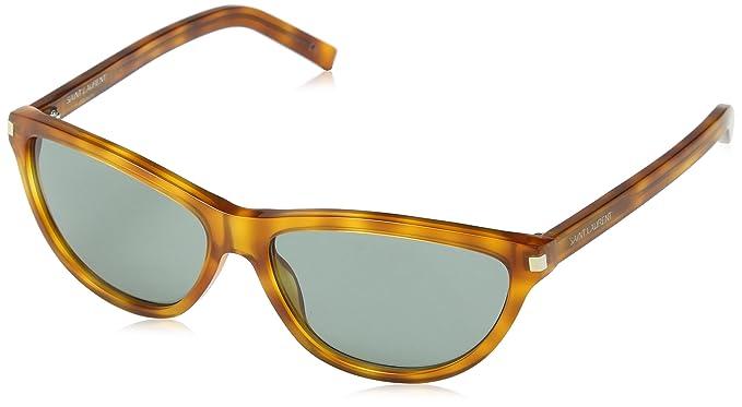 Yves Saint Laurent Damen Sonnenbrille SL 70 919, Grau (Brown Tortoise Shell), One size